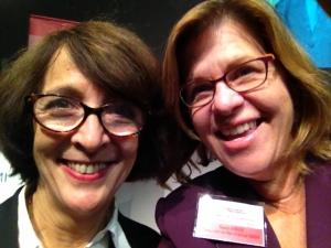Evelyne Bevort and Renee Hobbs